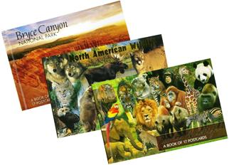 3 Beautiful Postcard Books at one Low price Limited time Offer
